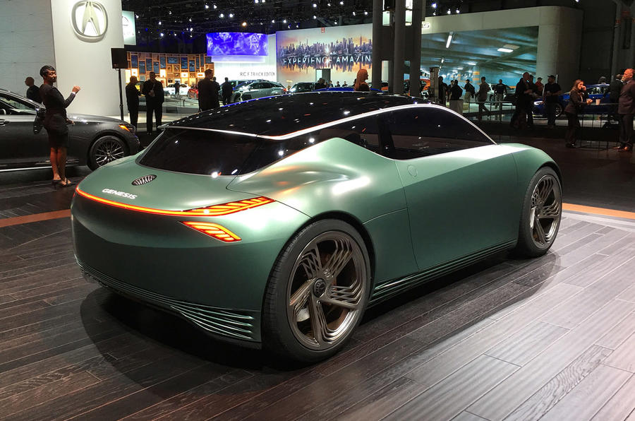 Genesis Mint concept - New York Motor show 2019 - rear