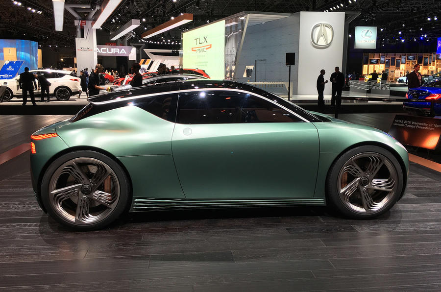 Genesis Mint concept - New York Motor show 2019 - side