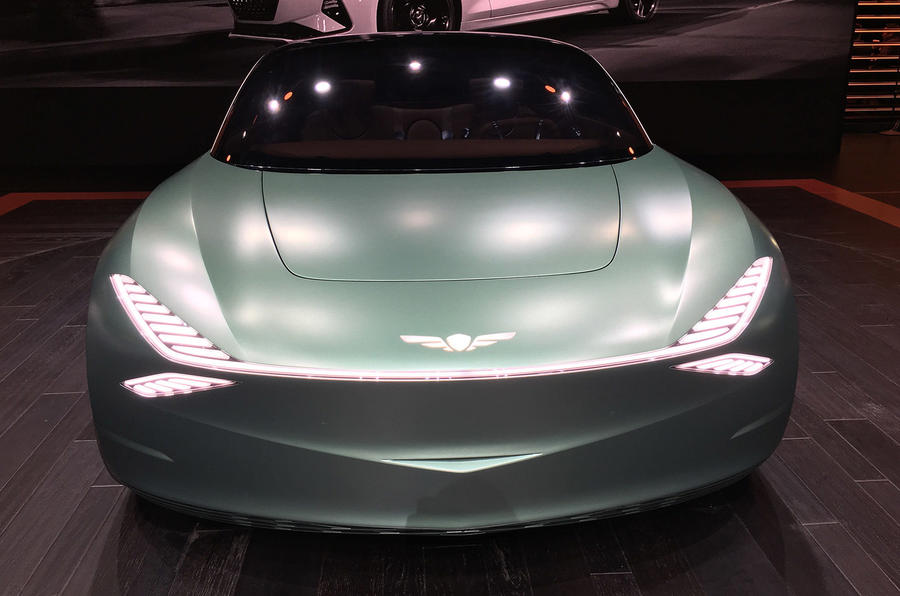 Genesis Mint concept - New York Motor show 2019 - nose