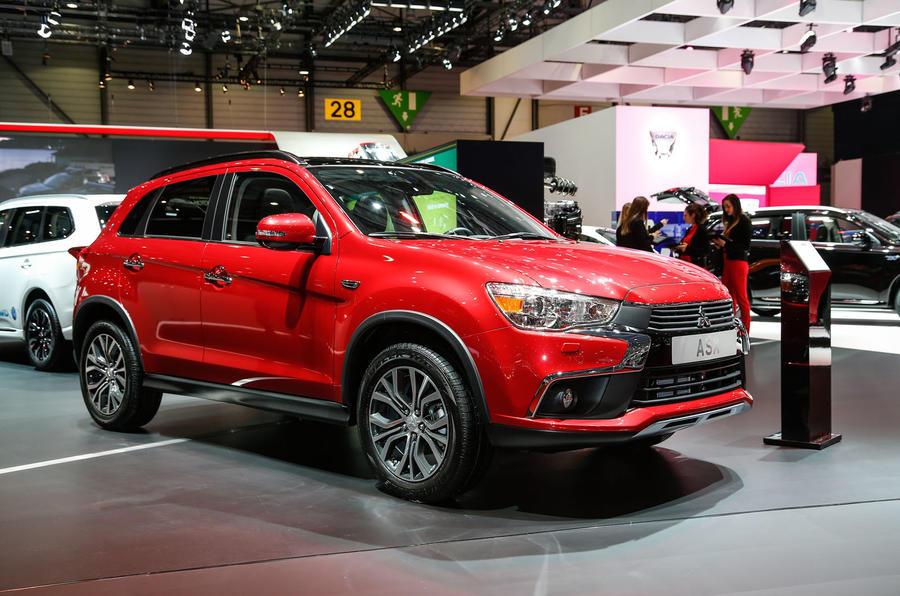 Facelifted Mitsubishi Asx Revealed At Geneva Motor Show