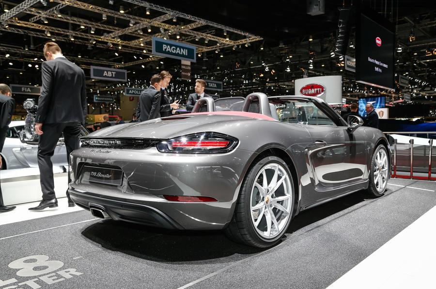 2016 Porsche 718 Boxster revealed
