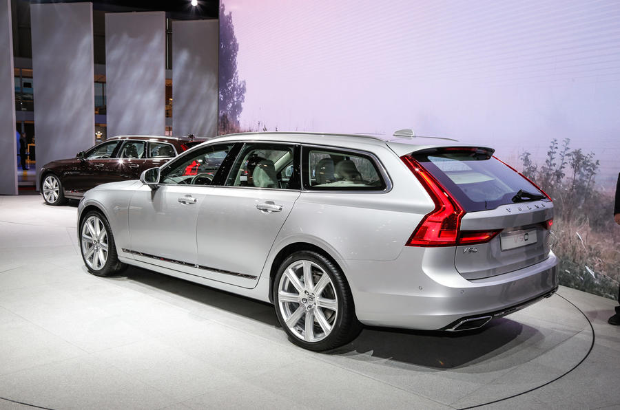 2016 volvo v90 prices revealed full pictures and information autocar. Black Bedroom Furniture Sets. Home Design Ideas