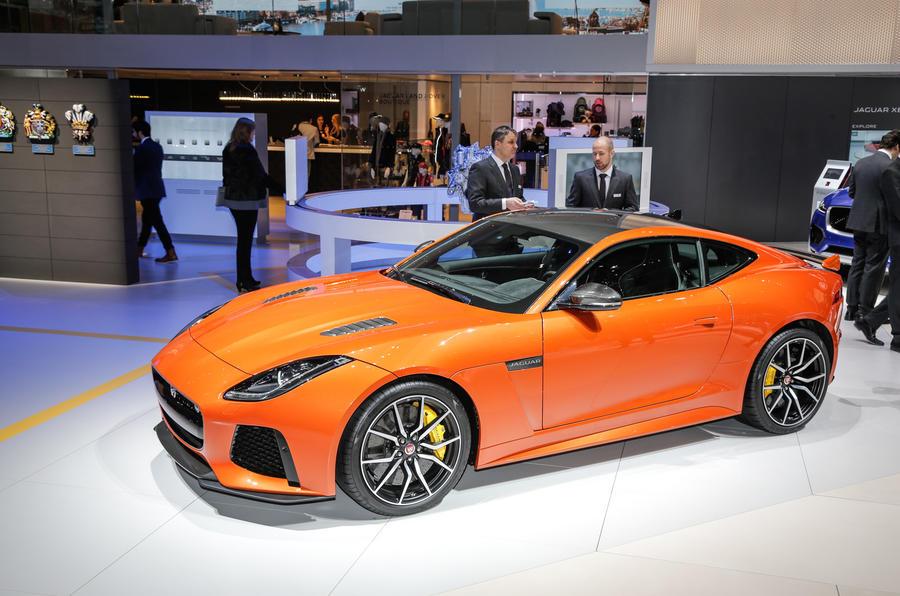 new 200mph jaguar f type svr revealed autocar. Black Bedroom Furniture Sets. Home Design Ideas