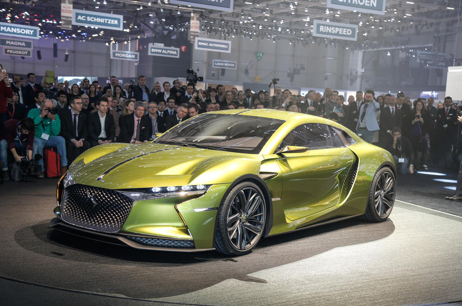 DS E-Tense electric concept car revealed at Geneva motor show ...