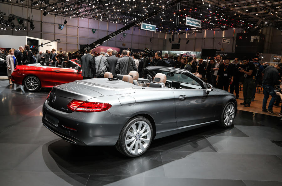 New mercedes benz c class cabriolet revealed at geneva for New mercedes benz convertible
