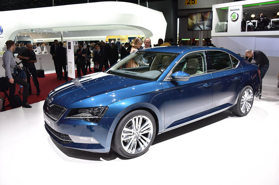 2015 Skoda Superb Priced From 18 640 To 34 740 Autocar