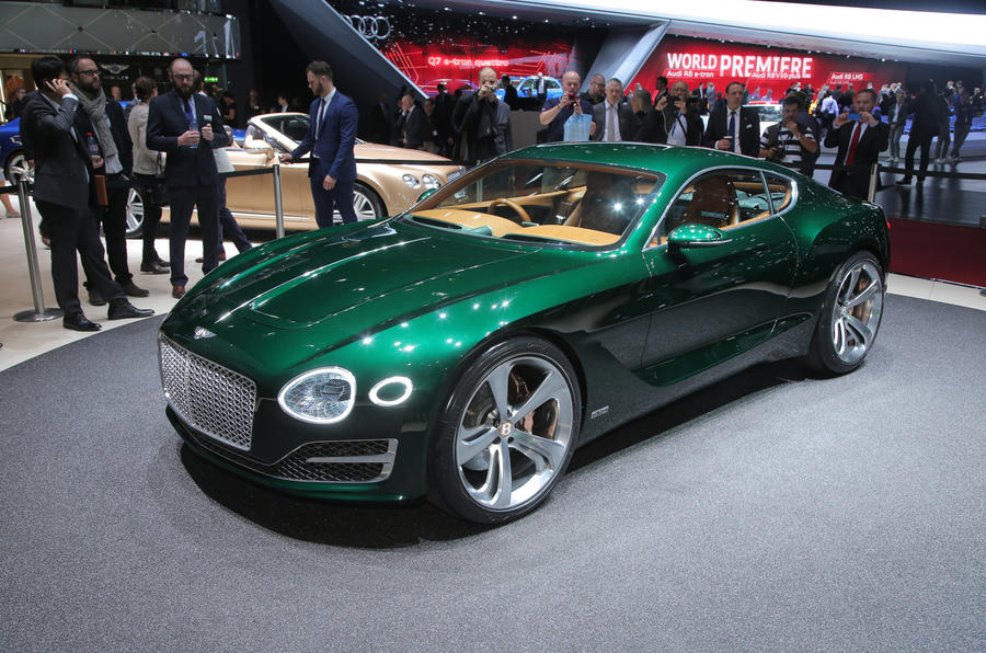 New Bentley Exp 10 Speed 6 Concept Previews Two Seat Sports Car