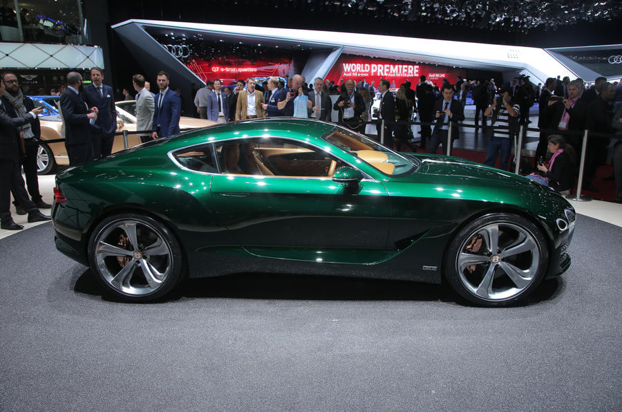 Superior New Bentley EXP 10 Speed 6 Concept Previews Two Seat Sports Car