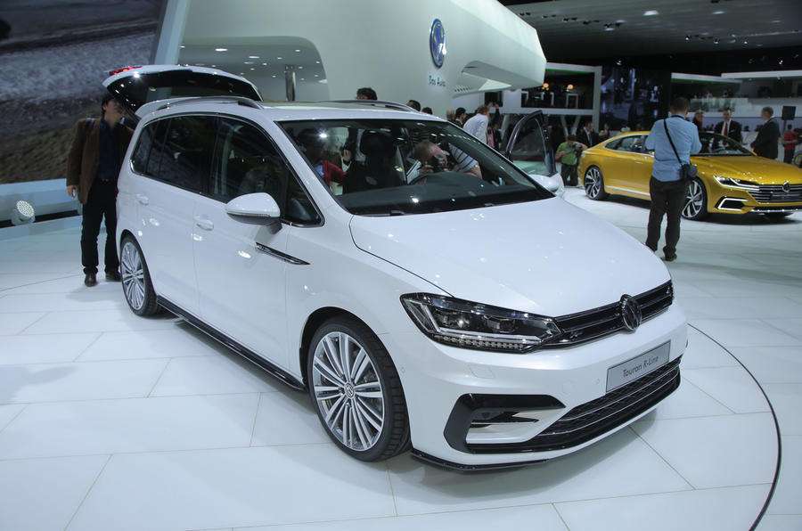 2016 vw touran goes on sale later this year new 2016 touran comes with