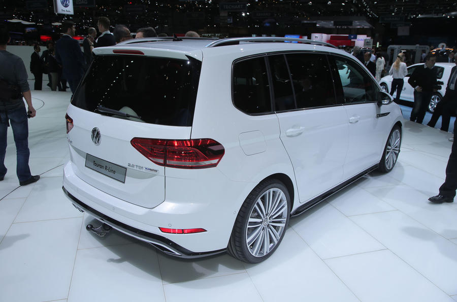 2016 Volkswagen Touran Revealed Autocar
