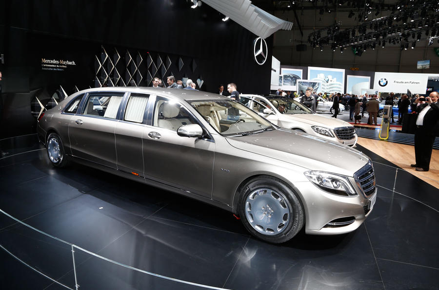Mercedes Maybach S Class Pullman Revealed Autocar