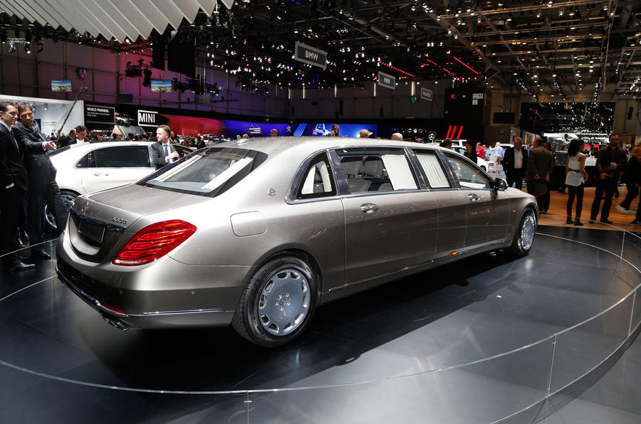 Limousine For Sale >> Mercedes-Maybach S-Class Pullman revealed | Autocar