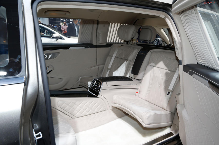 The stretched interior of the Pullman offers a luxurious environment