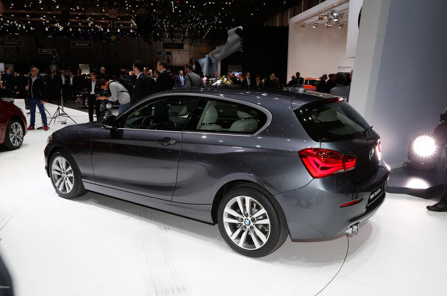 Facelifted BMW Series Exclusive Studio Pictures Autocar - Bmw 1 series 2015