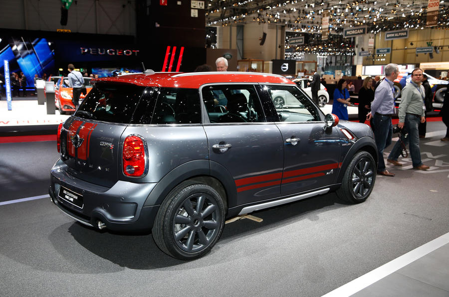 mini countryman park lane model revealed at geneva show autocar. Black Bedroom Furniture Sets. Home Design Ideas