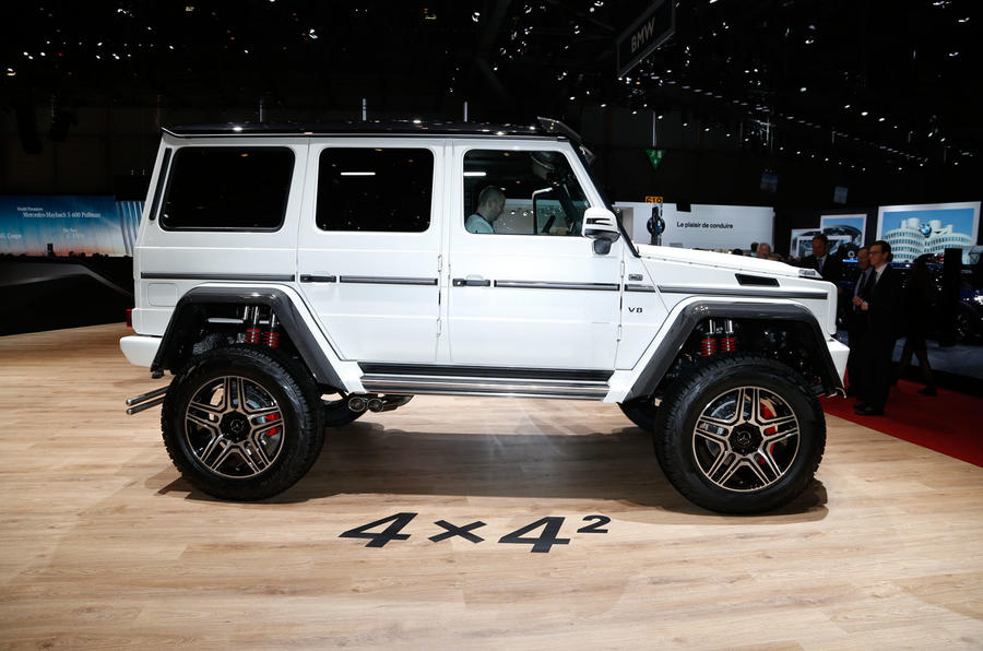 G63 Amg For Sale >> Extreme Mercedes-Benz G500 4x4² confirmed for production | Autocar