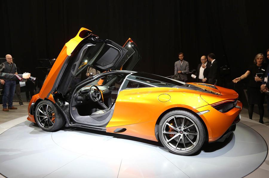 212mph Mclaren 720s Officially Revealed At Geneva Motor