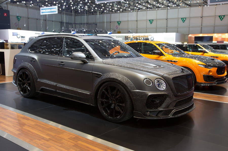 Bentley Bentayga tuned up