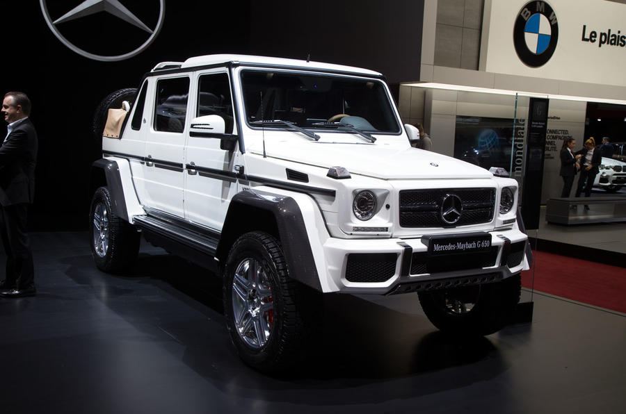 Mercedes Maybach G650 Price >> Mercedes Maybach G650 Landaulet Arrives As Swansong To