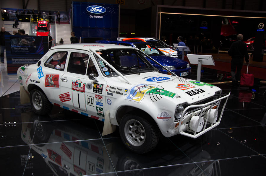 Rally-spec Mk1 Ford Escort