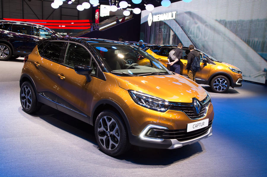 Facelifted Renault Captur