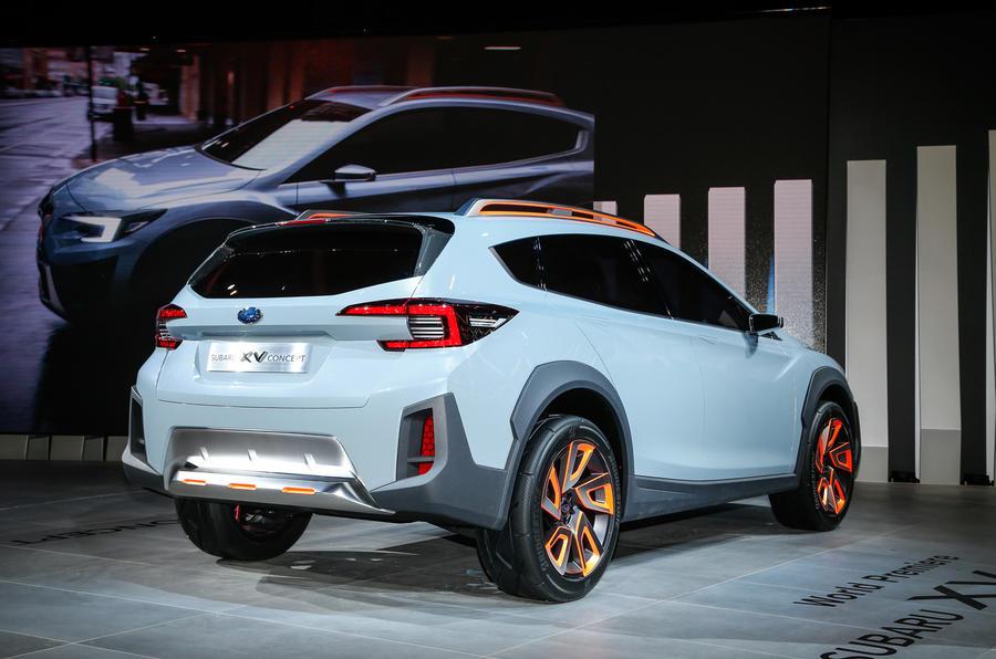 Subaru XV Concept debuts - previews next-gen model