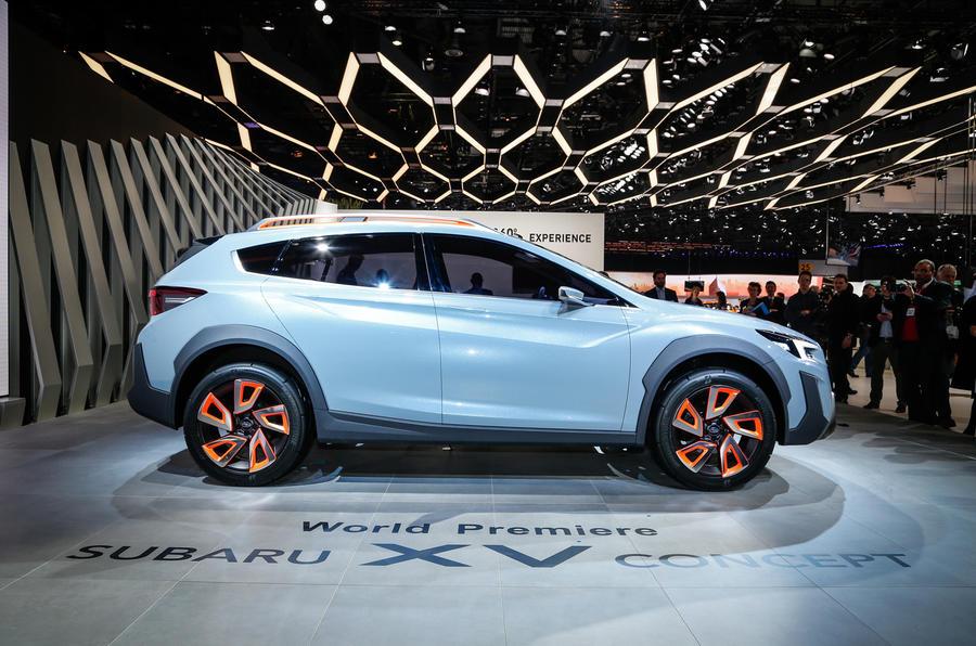 Subaru Xv Concept Revealed In Geneva Autocar