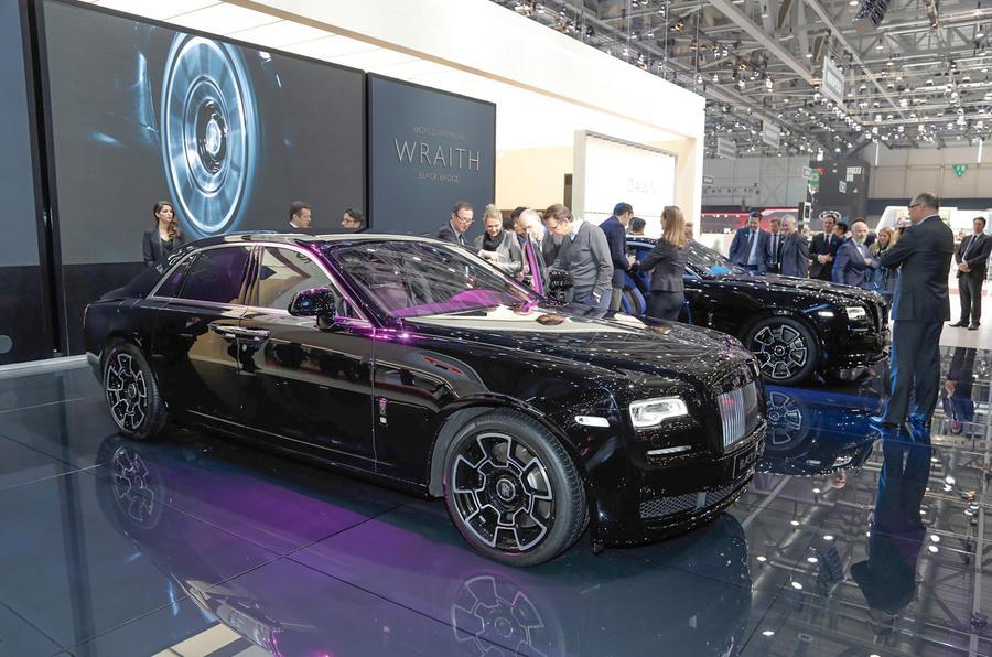 Wraith Black Badge >> New Rolls-Royce Black Badge models revealed before the Geneva motor show | Autocar