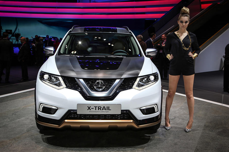 New Nissan Qashqai and X-Trail concept cars at Geneva show ...