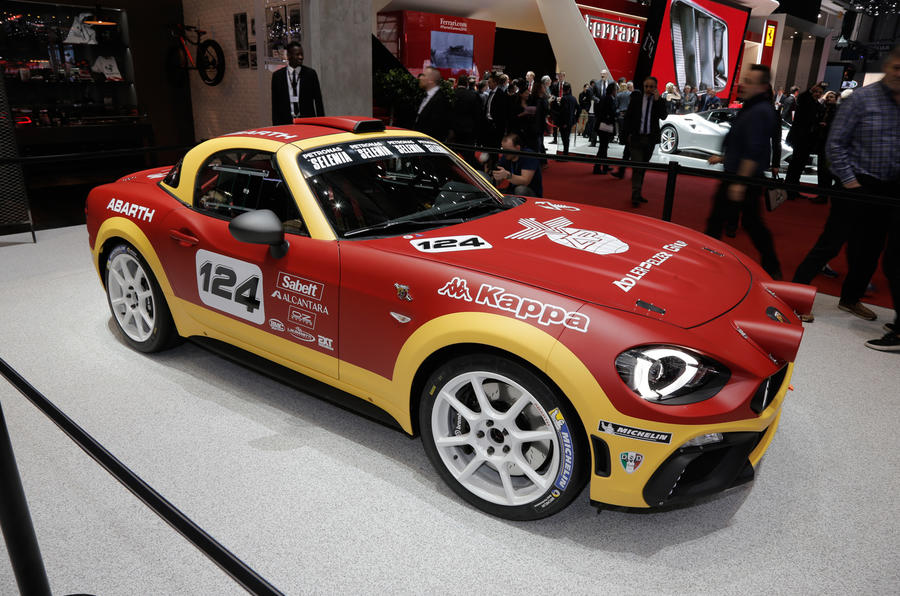 Popular Abarth 124 Spider Makes Debut At Geneva Motor Show  Autocar