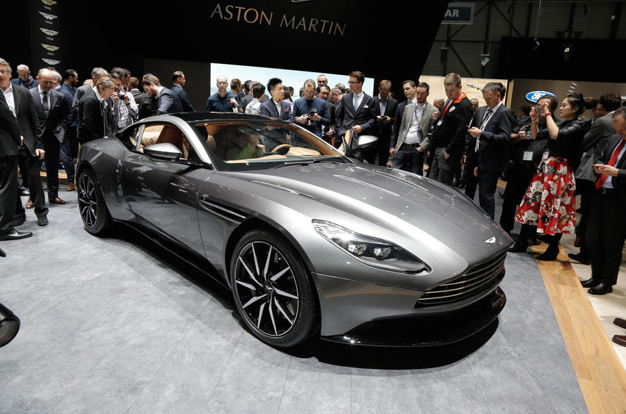 aston s db9 replacement sits on a new structure packs a new 600bhp