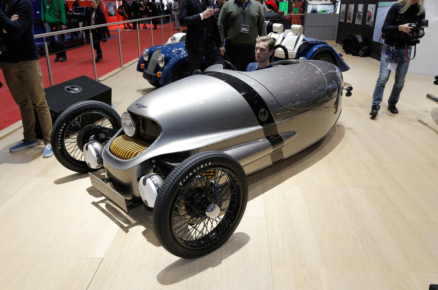 Morgan's EV3 electric runabout to begin production in 2018