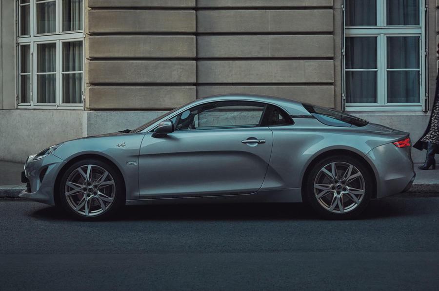 2020 Alpine A110 Légende GT - side