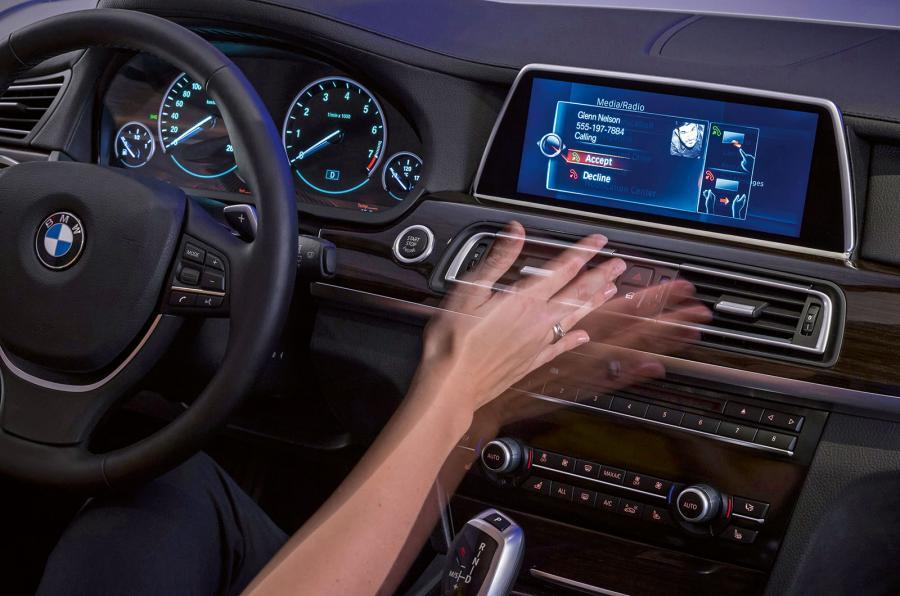 Delphi develops full front-cabin gesture-control system