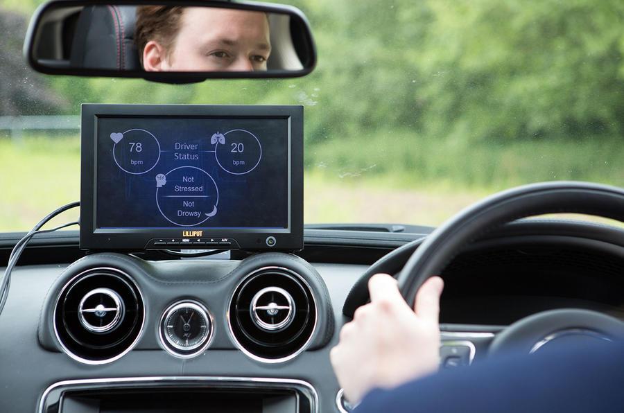 Jaguar Land Rover Develops Driver Monitoring Safety