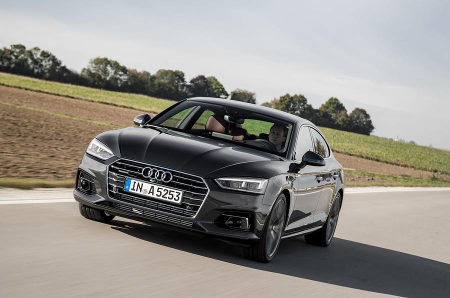 Audi a5 sportback 2017 s line white