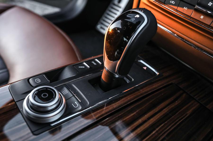 Maserati Ghibli S automatic gearbox