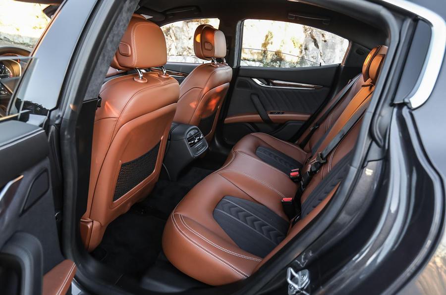 Maserati Ghibli S rear seats