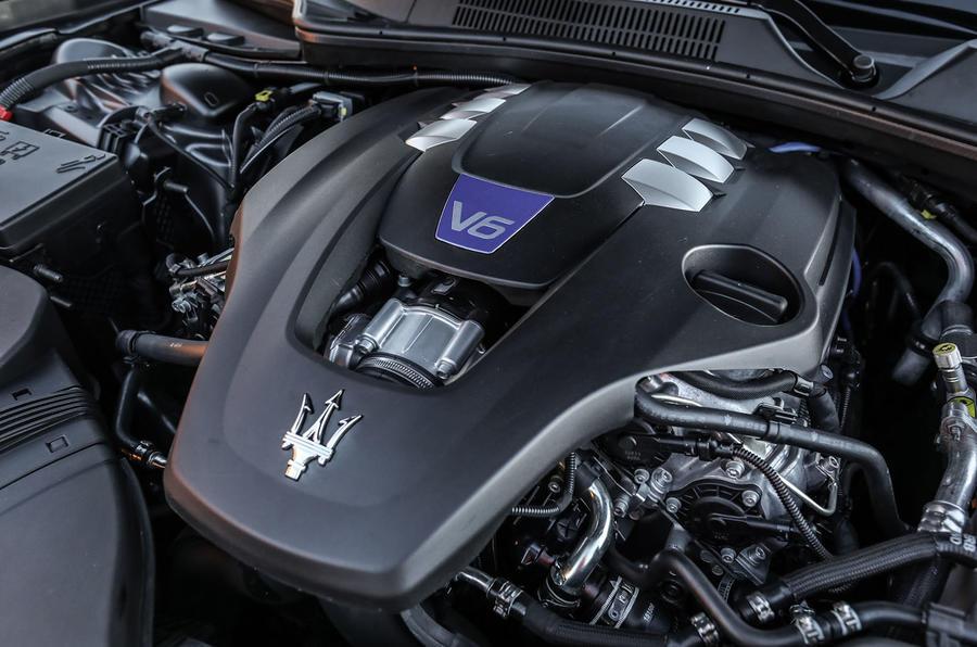 3.0-litre V6 Maserati Ghibli S engine