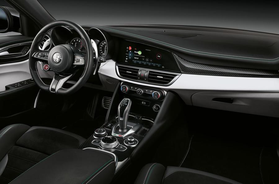 Alfa Romeo Giulia and Stelvio Quadrifoglio 2020 updates - interior