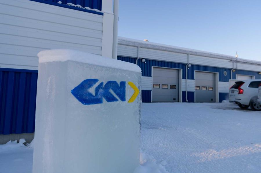 GKN arctic testing