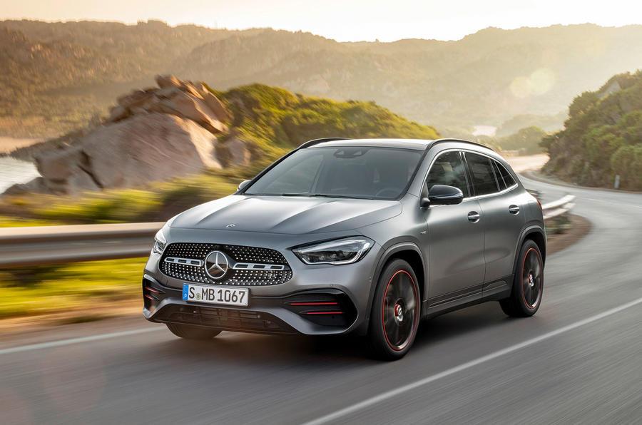 2020 Mercedes GLA reveal - hero front