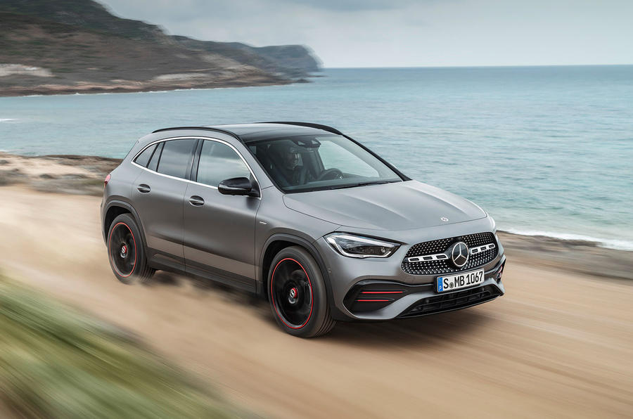 2020 Mercedes GLA reveal - front