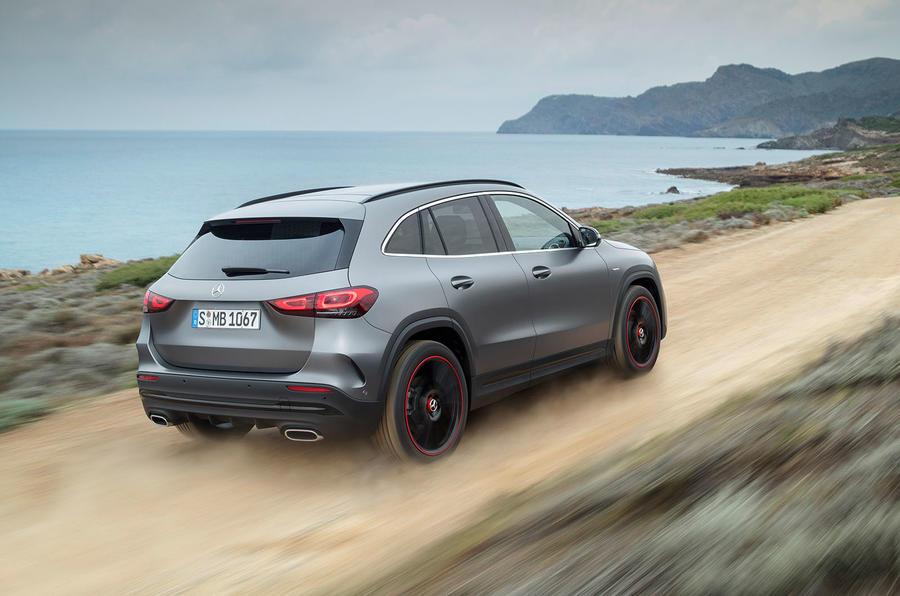 2020 Mercedes GLA reveal - rear