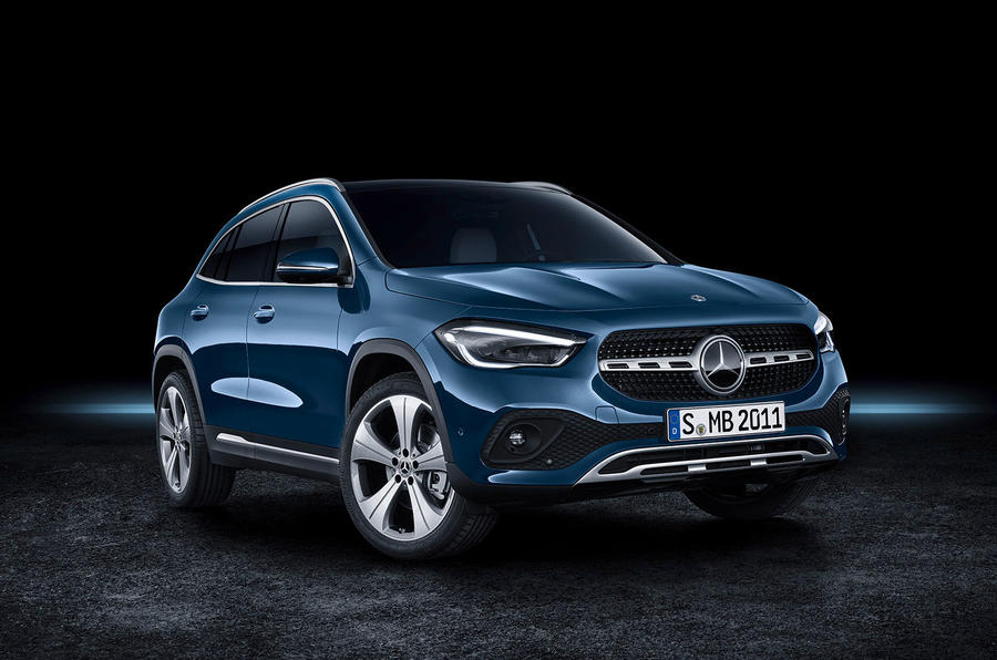2020 Mercedes GLA reveal - static front