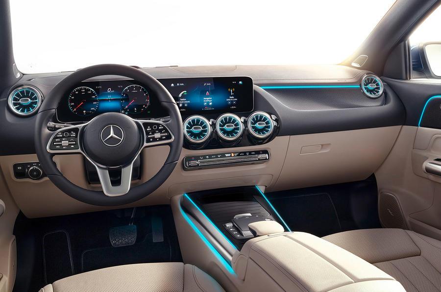 2020 Mercedes GLA reveal - dashboard