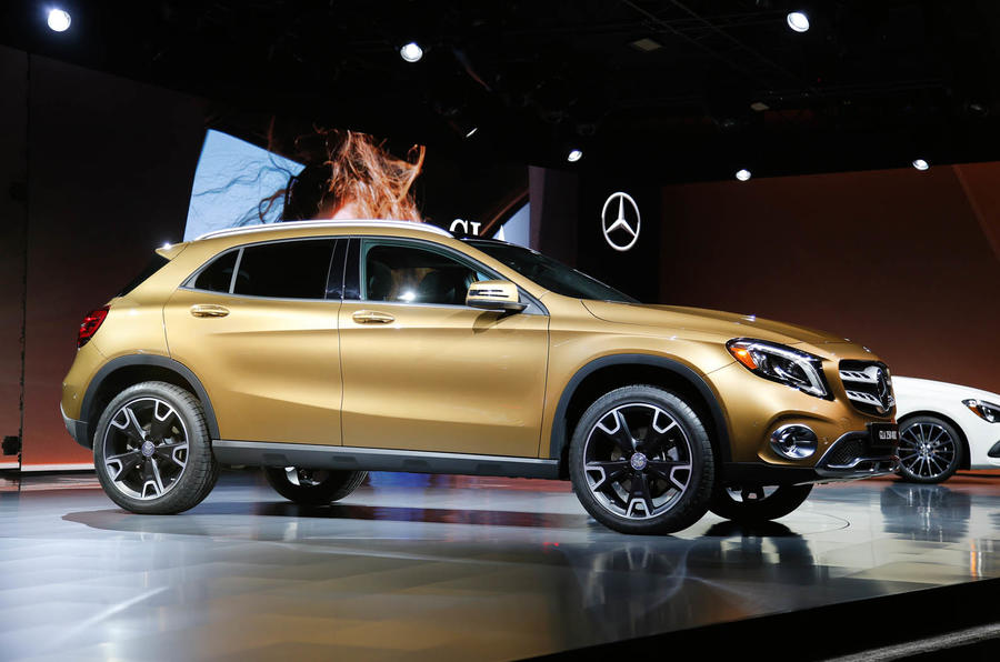 2017 mercedes benz gla facelift prices and specs released autocar. Black Bedroom Furniture Sets. Home Design Ideas