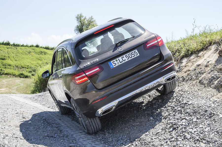 Mercedes-Benz GLC 250 d rear