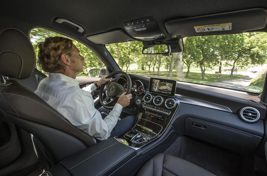 Driving the Mercedes-Benz GLC 250 d