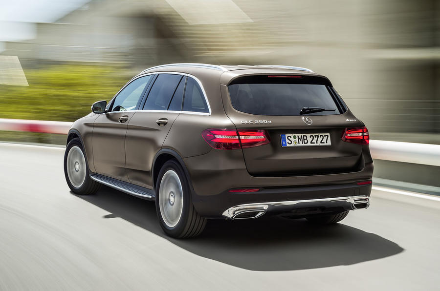 Mercedes-Benz GLC 250 d rear cornering